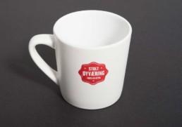 Trykk på kaffekopp