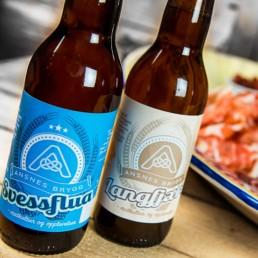 Øl etiketter